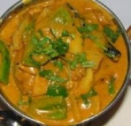 Preparate pui Kadai Chicken